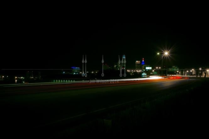 City lights, Fast cars, Cleveland...216